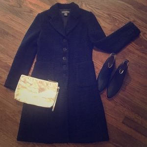 Knee length pea coat